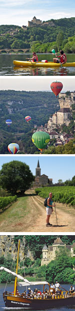 Activities in the Dordogne