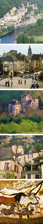 Places to visit in the Dordogne